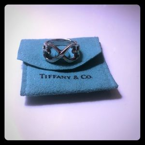 Tiffany & Co. double heart ring